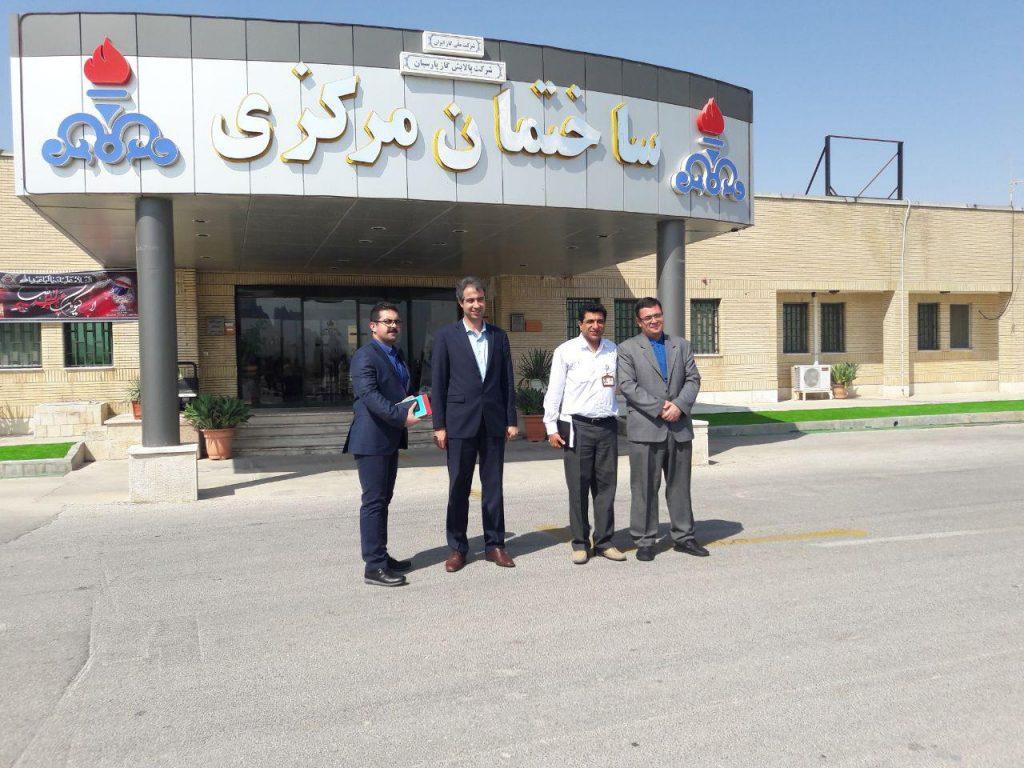 جلسات بهینه کاوی در شرکت ملی گاز- پالایشگاه گاز پارسیان