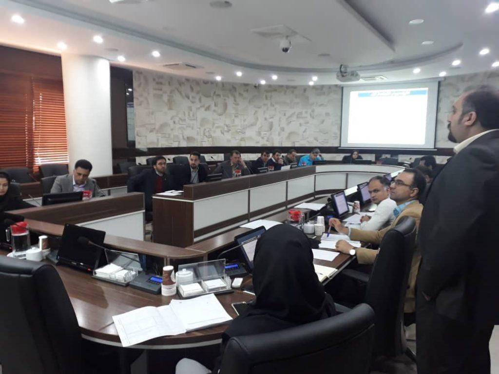 برگزاری جلسات آموزشی با موضوع مدیریت و بهبود فرایندها در شرکت مادرتخصصی تولید نیروی برق حرارتی کشور