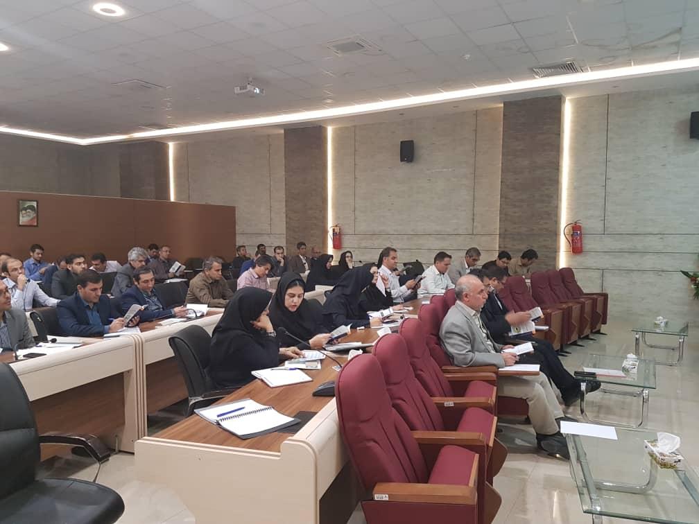 کارگاه آموزشی تربیت ارزیاب تعالی سازمانی در گاز استان خراسان رضوی