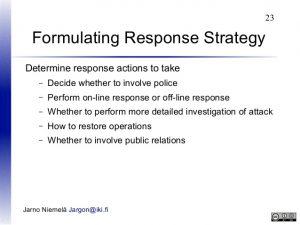 شناسایی و تدوین استراتژیهای پاسخ به ریسک (Response Strategy)